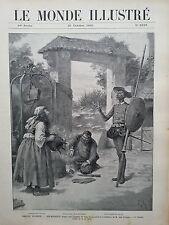 """LE MONDE ILLUSTRE 1905 N 2534 REPRESENTATION """"DON QUICHOTTE"""" AU THEATRE FRANCAIS"""