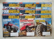 Four Wheeler Magazine 2012 - Near Complete Year - 9 Full Issues