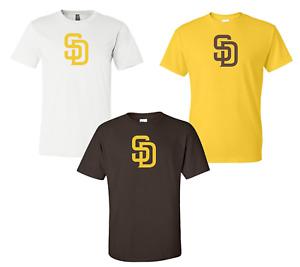 San Diego Padres SD Logo T Shirt