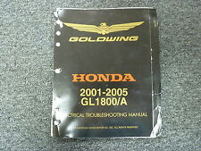 2001 2002 Honda GL1800 A Gold Wing Motorcycle Electrical Troubleshooting Manual