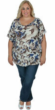 Polyester Casual V-Neckline Tops & Blouses for Women