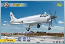"TUPOLEV TU-91 ""BOOT"" SOVIET ATTACK PROTOTYPE MODELSVIT PLASTIC KIT 1/72"