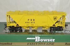Ho scale Bowser Pennsylvania Rr H-30 covered hopper car train Yellow Mow Work