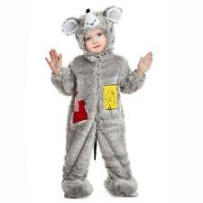 Disfraz de Ratón peluche, Para Bebé. Halloween, Carnaval. Talla 1 a 2 años