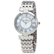 Guy Laroche Far East White Mother of Pearl Dial Ladies Stainless Steel Watch