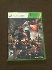 Microsoft XBox 360 Video Game Dragon's Dogma Rated M NICE