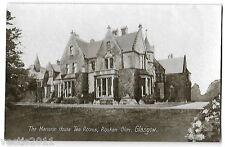 Rouken Glen, Glasgow, Scotland Philco Series Postcard - Mansion House Tea Rooms