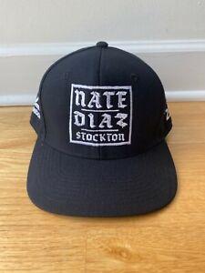 Nate Diaz Diaz Brothers Stockton UFC 230 Reebok Hat - Very Rare [LAST ONE]