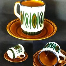 Boch, set cup and saucer, Delta, Ellipse