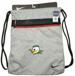 Nike New Sport Gym Sack III Oregon Ducks Adult Unisex Zipper Pocket Backpack