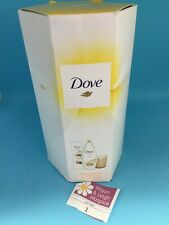 Dove Perfect Pampering Gift Set Body Lotion Shower Gel Fragranced Candle New dh1