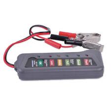 12V Digital Battery Alternator Tester with 6 LED Lights Display Fit Car Auto US