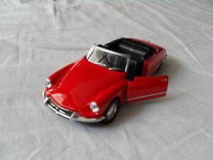 voiture miniature collection, 1/34-1/39, citroën ds 19 cabriolet emballée