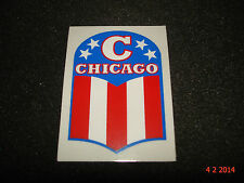 1 AUTHENTIC NOS RALEIGH CHICAGO BICYCLE FRAME STICKER #5 DECAL