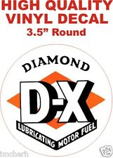 Vintage Style Diamond D X DX Gasoline Decal - Nice and Glossy - The Best!