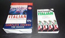 Italian: The Basics 3 Cds + Dictionary, Phrase Card + Extra Book