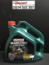 Castrol Magnatec Fully Synthetic 5W 30 A5 / ENGINE OIL 8 Litres  Ford Mondeo