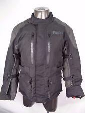 Weise Nevada ST Waterproof Textile Motorcycle Jacket - Black / Gun Size M 42