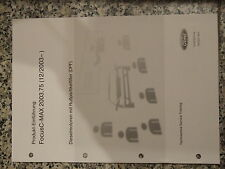 Techniker Information Ford Focus C-MAX 2003.75 (12/2003-)