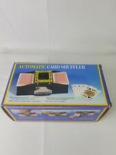Automatic Card Shuffler 1-2 Deck Standard & Bridge Sized Casino Poker Black Jack