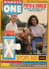Pepsi & Shirlie on Magazine Cover 1987  Mark Shaw of Then Jerico  Mark King  ABC