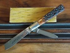 PARKER CUT CO--JAPAN--1984-90--ONE ARM RAZOR--JIGGED BOVINE BONE