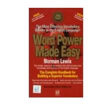 Word Power Made Easy by Norman Lewis (author)