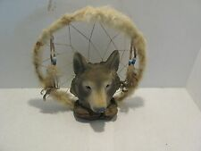 Wolf Dream Catcher Reproduction