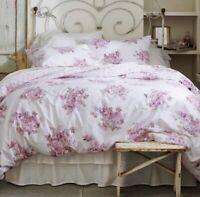NEW Cactus Rosebloom Duvet & Sham Set Pink Blush Bouquet Simply Shabby Chic King