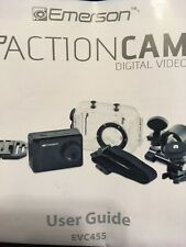 Emerson Go HD Action Cam Digital Video 5.0 MPXL Waterproof Camera; EVC455