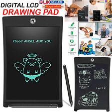 """8.5"""" DIGITAL ELECTRONIC LCD DRAWING WRITING TABLET PAD NOTEPAD GRAPHICS FOR KIDS"""