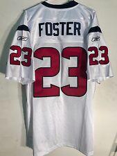 Reebok Authentic NFL Jersey Houston Texans Arian Foster White sz 48