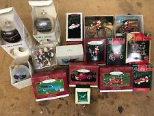 christmas tree ornaments vintage