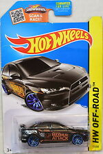 HOT WHEELS 2015 HW OFF-ROAD 2008 LANCER EVOLUTION BLACK