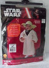 Star Wars Yoda Costume Child Toddler 24 Months Dress Up Robe Headpiece NEW Kid