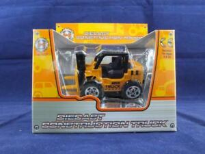A to Z Diecast Construction Fork Lift Truck Play Toy.