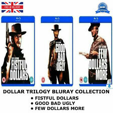 Dollar Trilogy Triple Good Bad Ugly,For A Few More,Fistful Of Dollar New Bluray