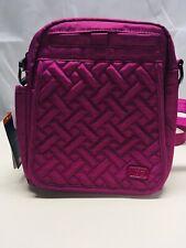 Lug Flapper Mini Cross Body Convertible Bag Handbag Purse  Bright Hot Pink NWT