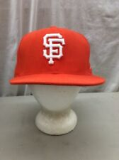 trucker hat baseball cap Fitted Vintage Retro SAN FRANCISCO GIANTS NBA 7 3/8