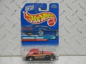 Hot Wheels #695 Red Classic Caddy w/5 Spoke Wheels