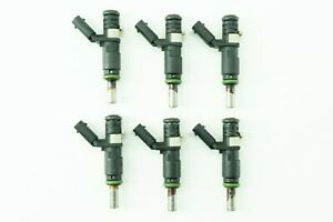 Mercedes E350 E300 E280 E550 Fuel Gas Injector Injectors Set of 6 2720780249