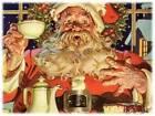 Santa by Joseph Christian Leyendecker