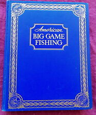 AMERICAN BIG GAME FISHING BOOK 1935 LIMITED 1ST EDITION DERRYDALE PRESS MARLIN