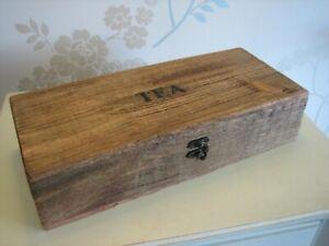 Tea Box in Mango Wood