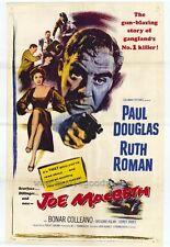 JOE MACBETH Movie POSTER 27x40 Paul Douglas Ruth Roman Bonar Colleano Gr goire