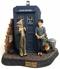 1st DOCTOR WHO Classic William Hartnell An UNEARTHLY CHILD Resin Diorama Statue
