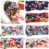 Boho Newborn Baby Girls Kids Flower Big Bow Hair Band Headband Hair Accessories