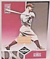 LOU GEHRIG 2004 LEAF LIMITED TIMBER Game Used Bat 89/100 HOF New York Yankees