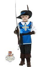 Costume Carnevale Halloween Moschettiere – Bambino 7-9 anni