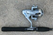 Shakespeare Pro Am Fishing Reel and Rod with Extra Rod and 4 Tackle Kits